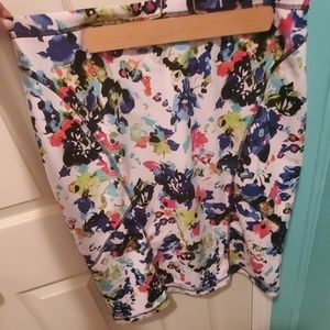Nicole by nicole Miller multicolored skirt xlarge
